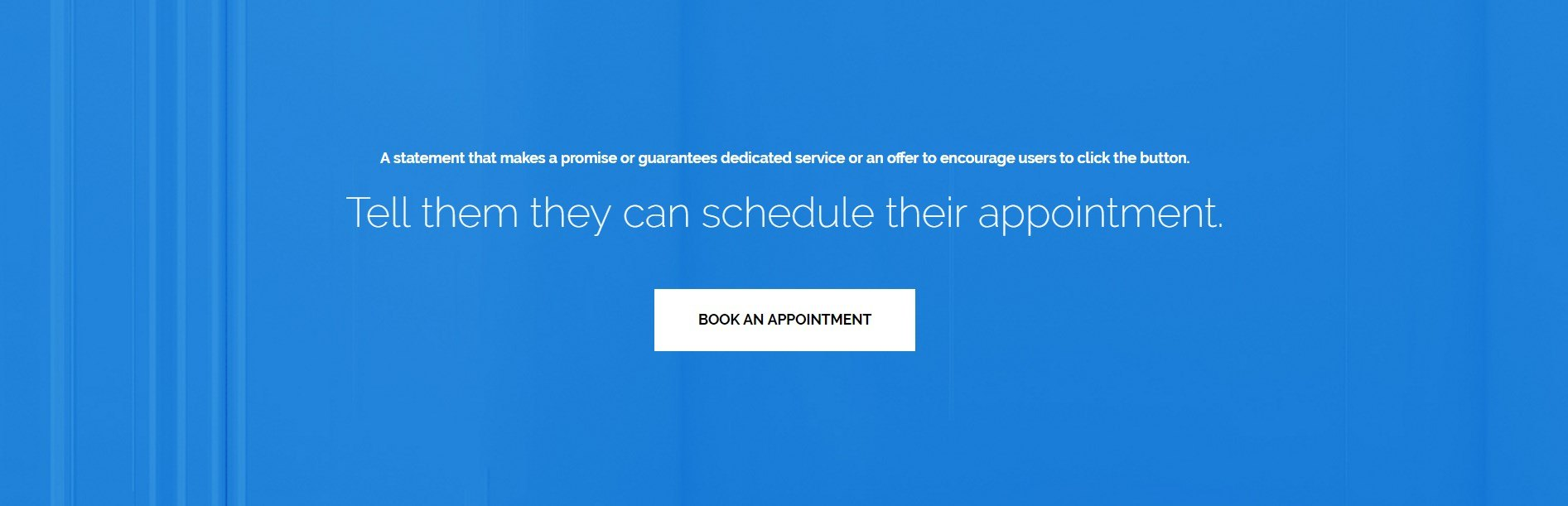 A soothing and friendly page template for a health clinic call to action page template for health clinic pronofoot35fo Choice Image