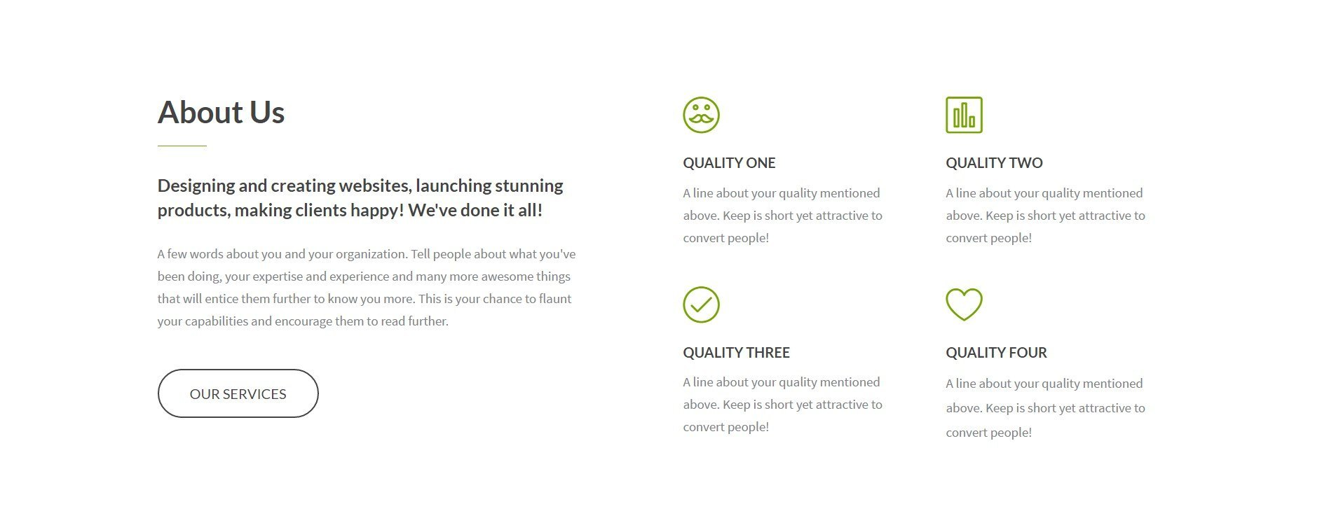 An Impressive Landing Page Template for a Web Agency ...
