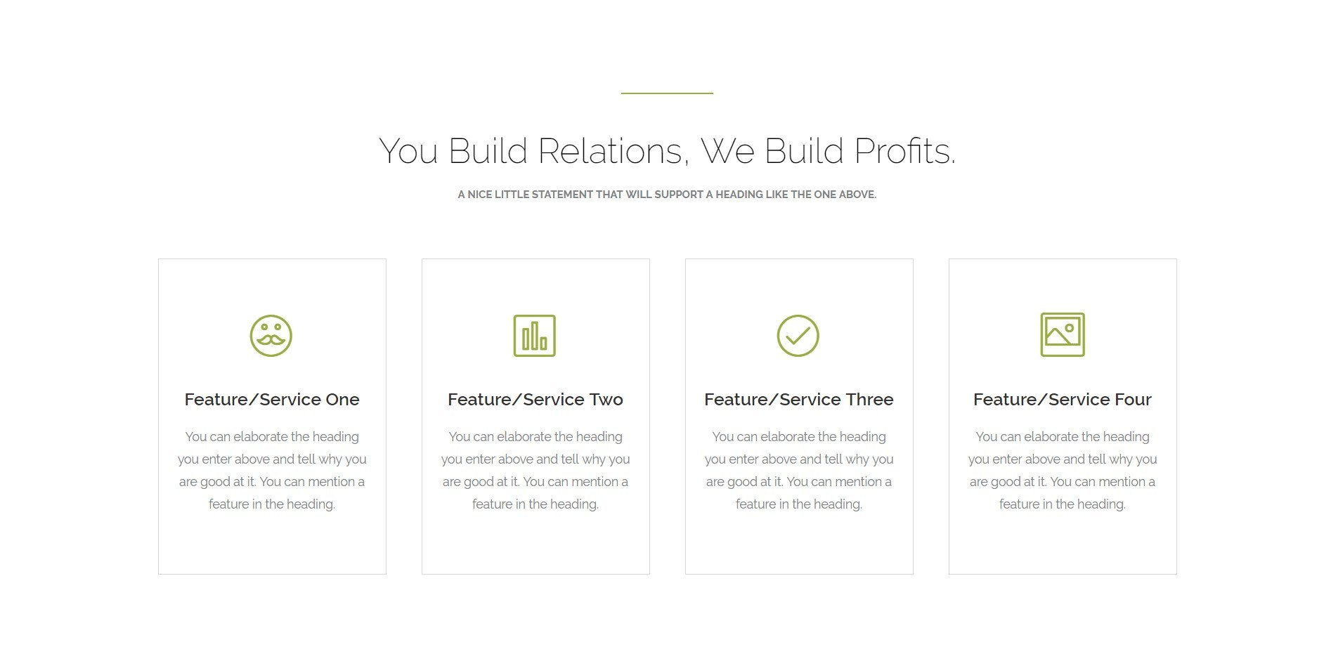 A refreshing landing page template for marketing ultimate addons have some services to mention you can introduce them in the section below pronofoot35fo Images