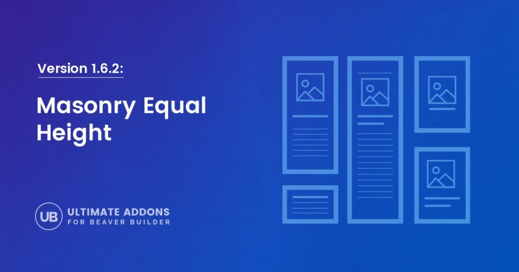 Version 1 6 2: Masonry Equal Height option in Advanced Post
