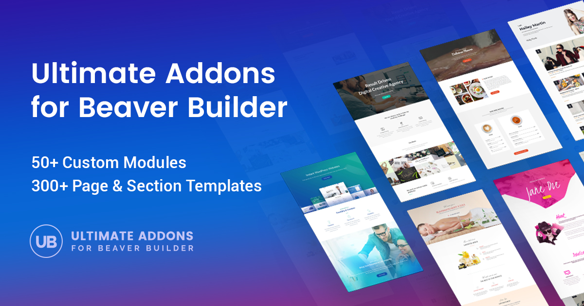 The Best Beaver Builder Addon - Ultimate Addons for Beaver Builder