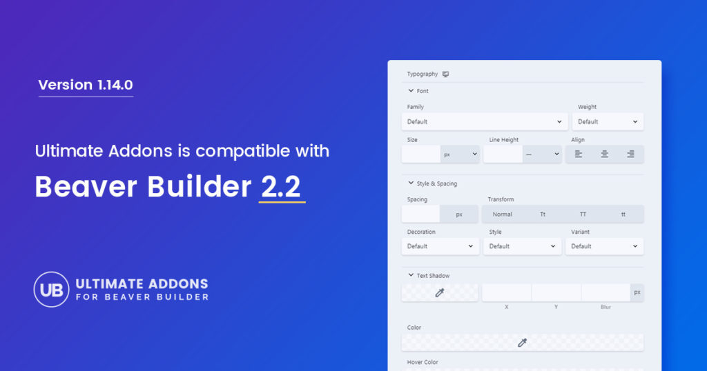 Introducing UABB Version 1 14 0 : Compatibility with Beaver