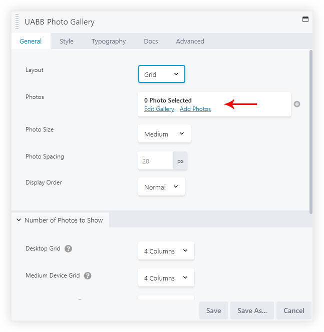 How to Add Custom Links to Photo Gallery images? – Ultimate